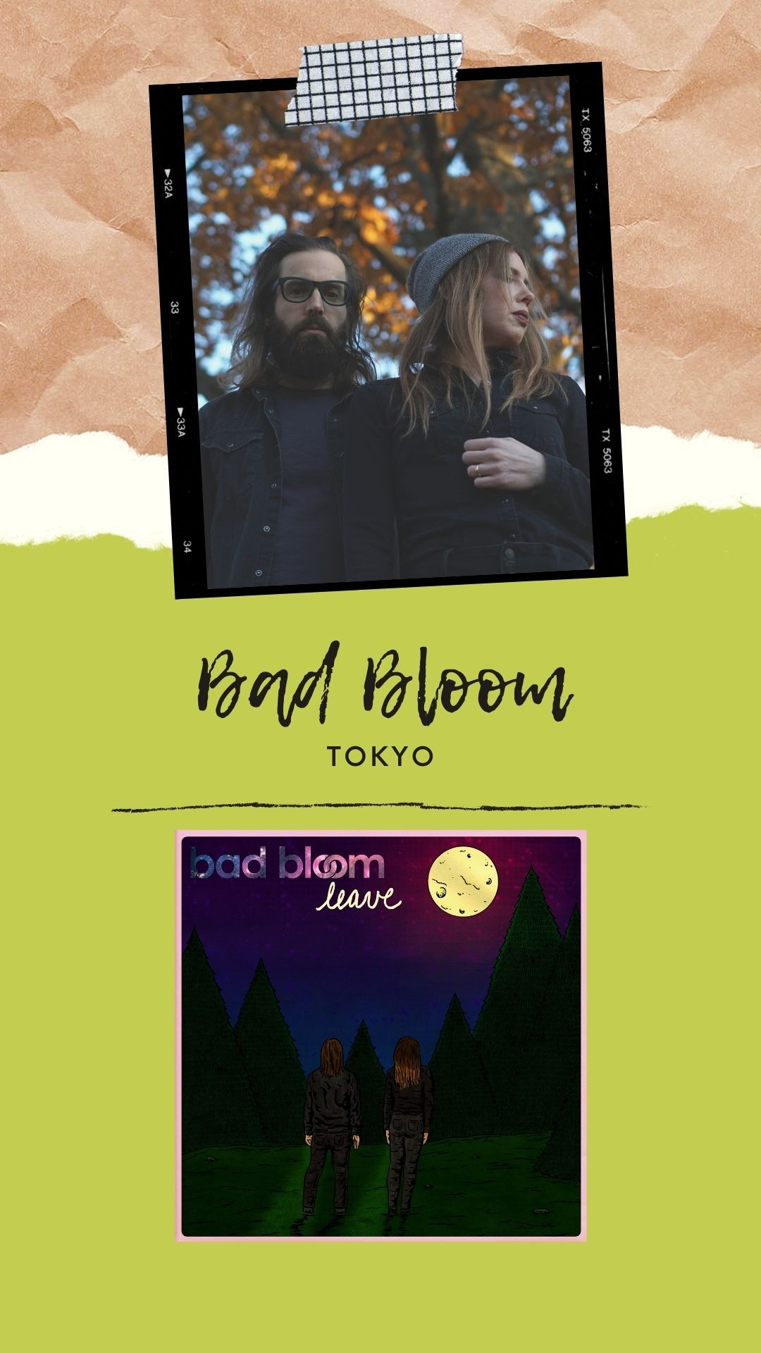 "BAD BLOOM ""Tokyo"""