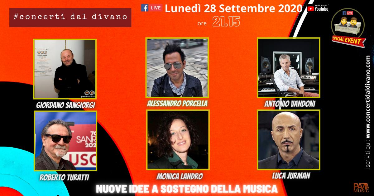 The second season of #concertidaldivano