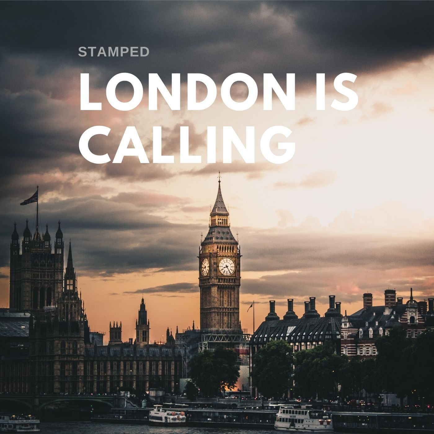 """STAMPED """"London is Calling"""" ©PA74 Music Publishing"""